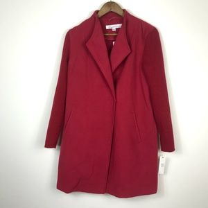 Kenneth Cole New York Red Coat NWT Medium